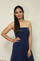 Radhika Mehrotra in sleevless Strap less Blue Gown At Prema Entha Madhuram Priyuraalu Antha Katinam Movie Interview ~  Exclusive 097.JPG
