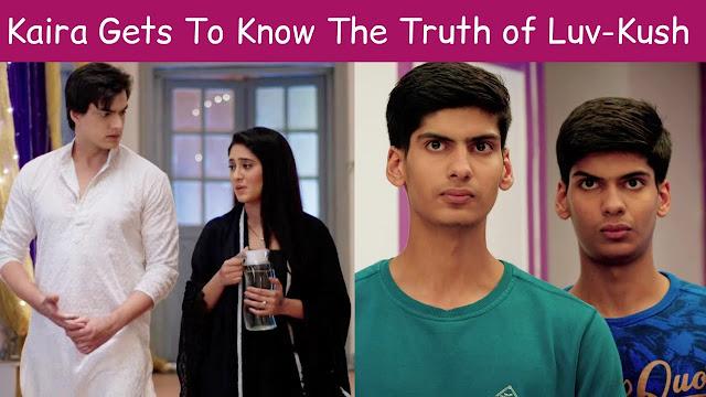 Yeh Rishta Kya Kehlata Hai Update : Trisha shocked at Luv Kush's weird attitude