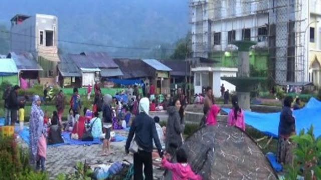 Total 217 Gempa Mengguncang Mamasa Selama Sepekan Tanpa Henti