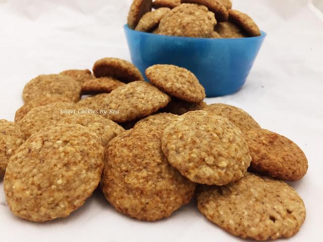 Mini cookies de coco y plátano para bebés