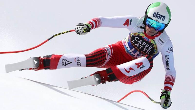 Mirjam Puchner zjazd - lyžovanie Andorra