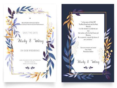 label undangan digital pernikahan
