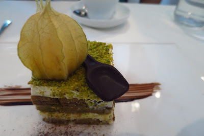 Etna, pistachio tiramisu