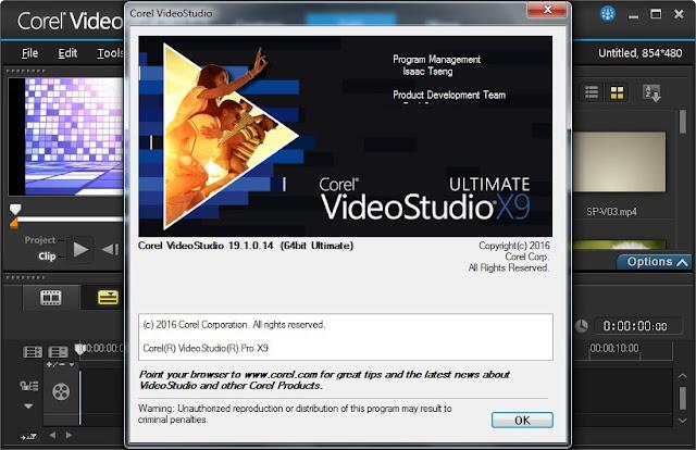 Corel VideoStudio Ultimate X9 19.1.0.14