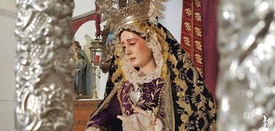 Suspendida la procesión de la Virgen de los Dolores de Gibraleón (Huelva)
