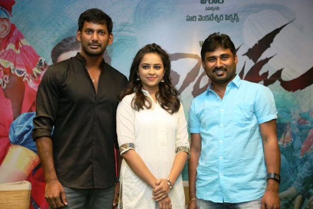 . Vishal, Sri Divya, Radha Ravi and Kulappulli Leela. Music by D Imman. Directed by M Muthaiah. Produced by G Hari under Hari Venkateswara Pictures Banner.  Rayudu is the Telugu dubbed version of Tamil hit movie Marudhu.