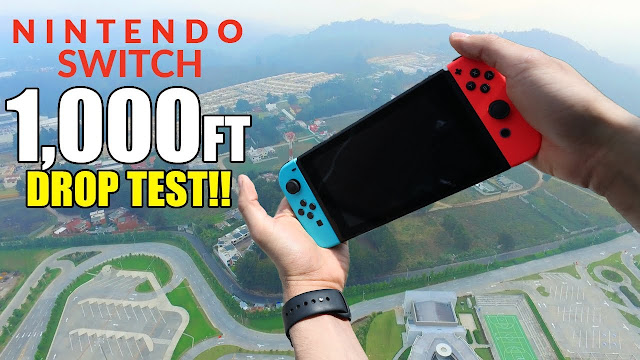 Here's The Fate of Nintendo Switch Dropped from Elevation of 1,000 Feet
