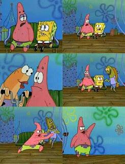 meme spongebob patrik ngamoox