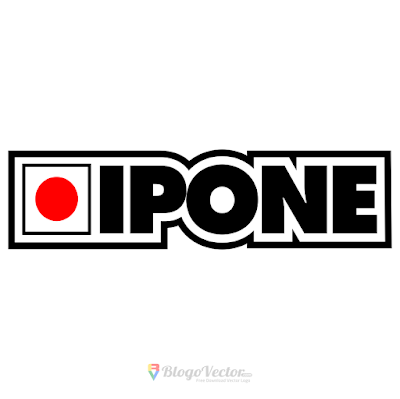 IPONE Oil Logo Vector