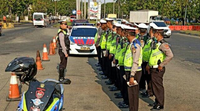 Operasi Patuh Jaya 2019 Di Bekasi, Ratusan Pelanggar Lalin Terjaring