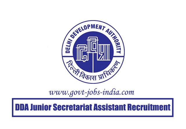 DDA Junior Secretariat Assistant Recruitment 2020 – 629 Jr Secretariat Assistant, Mali, Stenographer & Various Vacancy – Last Date 30 April 2020