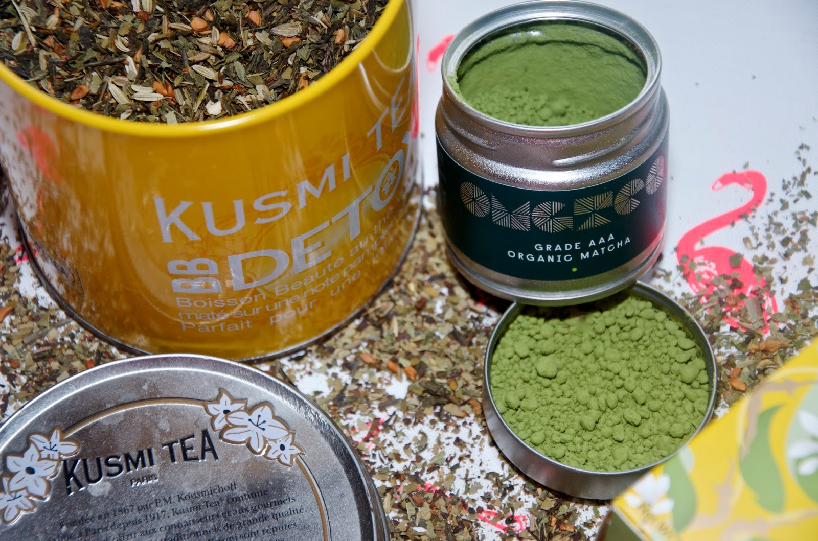 Loose Leaf and matcha tea
