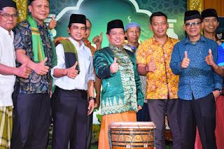 """Buka Kegiatan Islami """"Ramadhan Berbagi Nikmat"""", Wabup Ferizal Ridwan Himbau Tingkatkan Silaturrahim."""