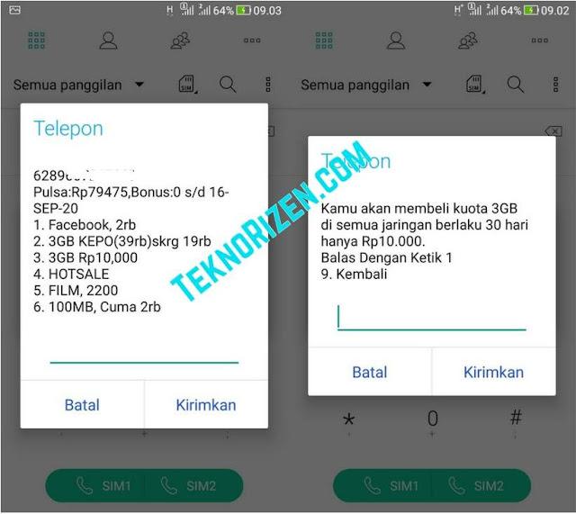 Cara Beli Paket 3 Tri 3GB 10000 Untuk Sebulan