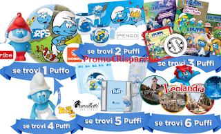Logo Concorso Vinci gratis con I Puffi 3 e Uci Cinemas un mondo di premi e weekend a Leolandia