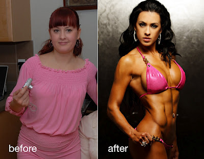 Olya Haidner transformation
