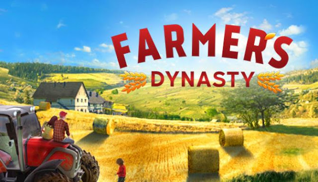 Farmer's Dynasty — prepare to create a farm of your dreams! You will start working on the small farm of the father of the protagonist.