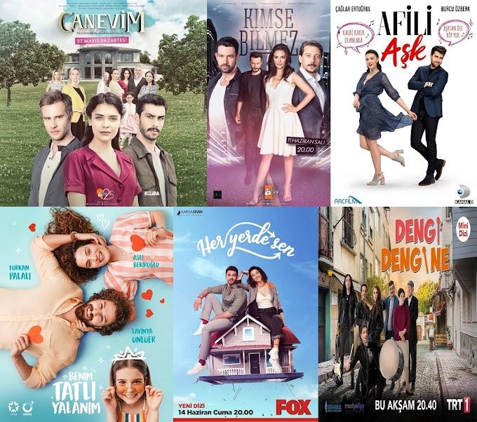 Yaz Sezonu İzlediğim Türk Dizileri (2019)