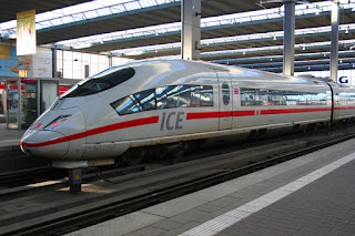 InterCity Express (ICE) Train, Germany