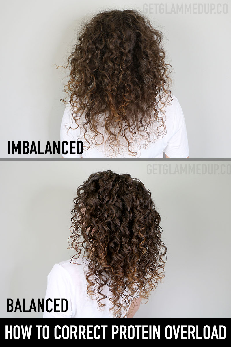 How to Correct Protein Overload & Balance Curly Hair
