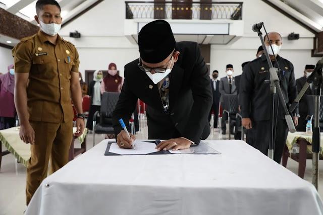 Sekda Aceh Utara 5 Pejabat JPT Pratama