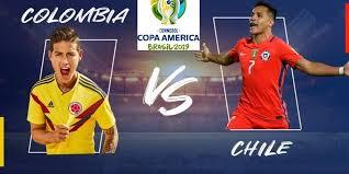 مشاهدة مباراة كولومبيا وتشيلي