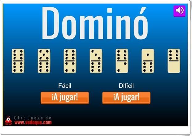 """""""Dominó"""" (Juego clásico online)"""