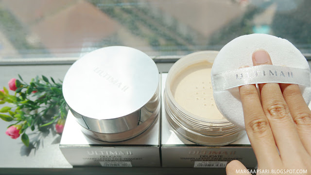 Packaging ULTIMA II Delicate Translucent Face Powder with Moisturizer