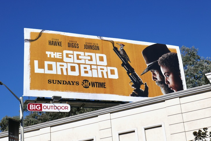 Good Lord Bird series billboard