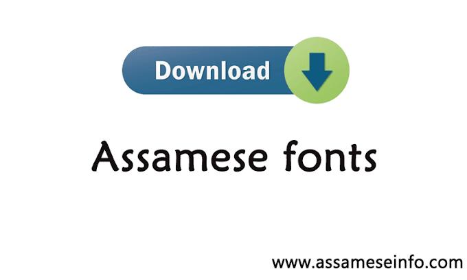Assamese fonts: Assamese fonts download for free