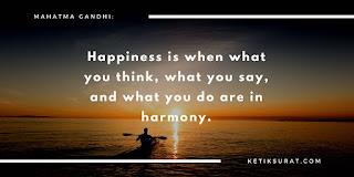 quotes bahasa inggris about happiness dan terjemahannya