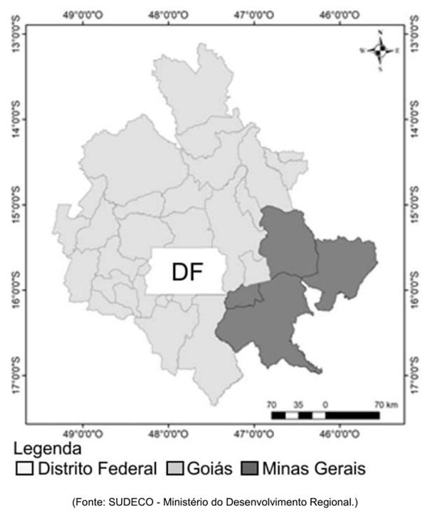Região Integrada de Desenvolvimento Econômico (RIDE) - Distrito Federal