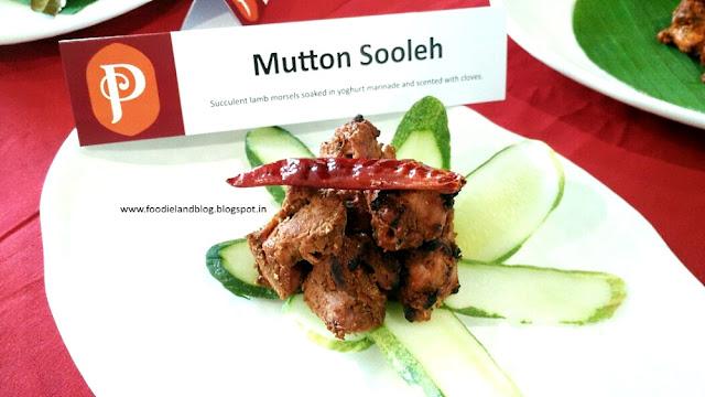 Mutton Sooleh @ The Hot N Juicy Kebab Festival @ Paradise | Bangalore