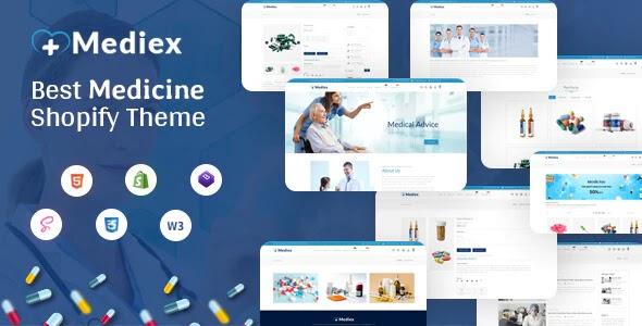 Medical Shop Shopify Theme