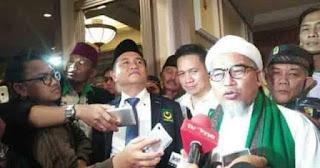 Dewan Pembina Pimpinan Pusat Front Pembela Islam (DPP FPI) Habib Muhsin Ahmad Alatas menyatakan semua berita yang mengatasnamakan Habib Rizieq Shihab dan FPI yang menyerang Partai Bulan Bintang (PBB) pasca Rakornas itu black campaign alis hoaks.