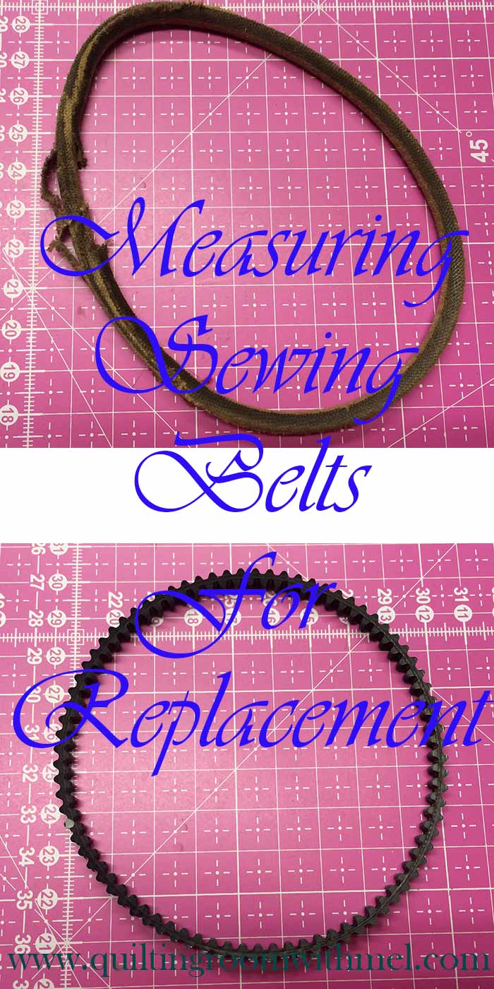 measuring sewing machine belt pinterest