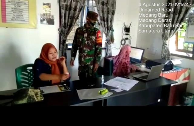 Jalin SIlaturahmi Dengan Mitra Karib DIlakukan Personel Jajaran Kodim 0208/Asahan Dengan Cara Melalui Komsos