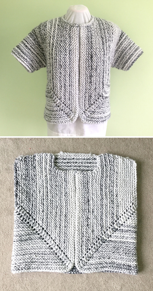 Jutka Cardigan - Free Knitting Pattern