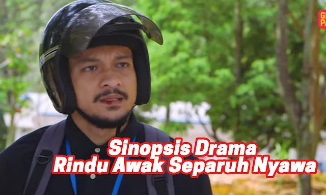 Sinopsis Drama Rindu Awak Separuh Nyawa (Astro Ria 2021)