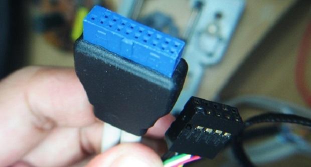 Modifikasi Kabel USB 3.0 menjadi USB 2.0 pada computer PC 2015