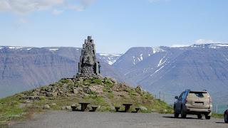 Lookout at Sauðárkrókur