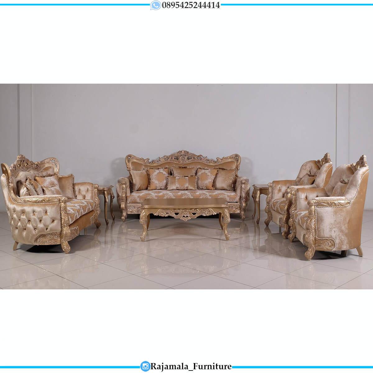 Harga Sofa Tamu Mewah Ukir Jepara Luxurious Imperial Palace RM-0728