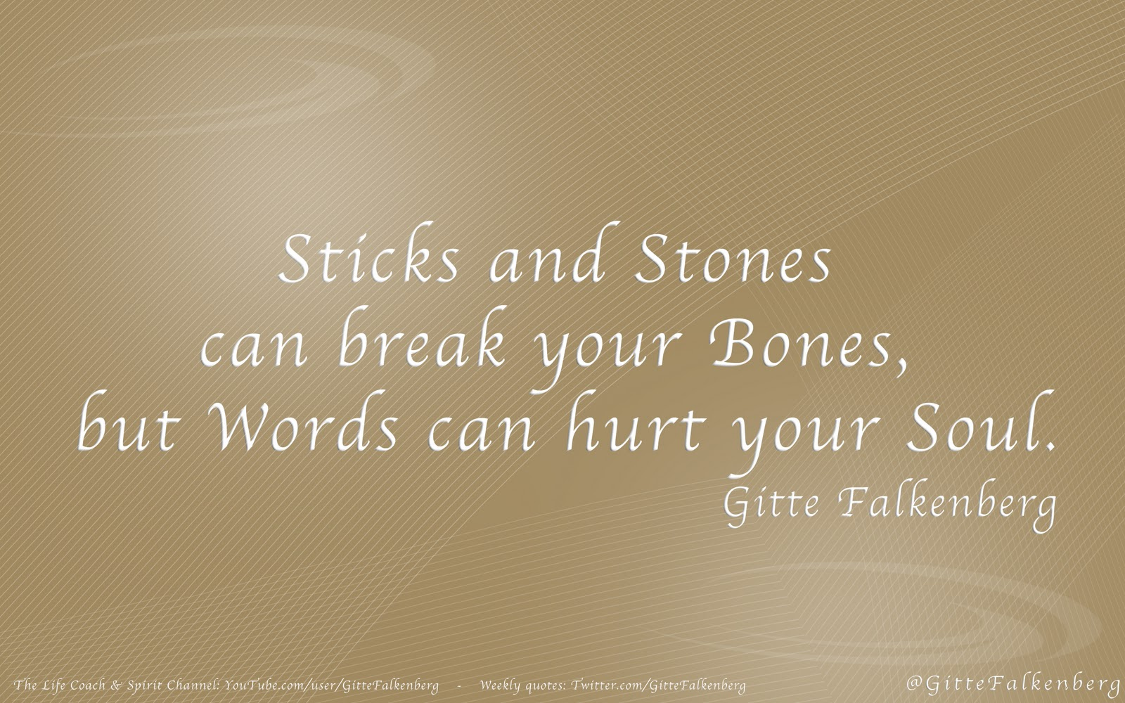 Words Can Hurt Or Heal Quotes Traffic Club