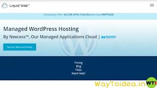 Liquid web hosting, managed WordPress hosting liquid web hosting