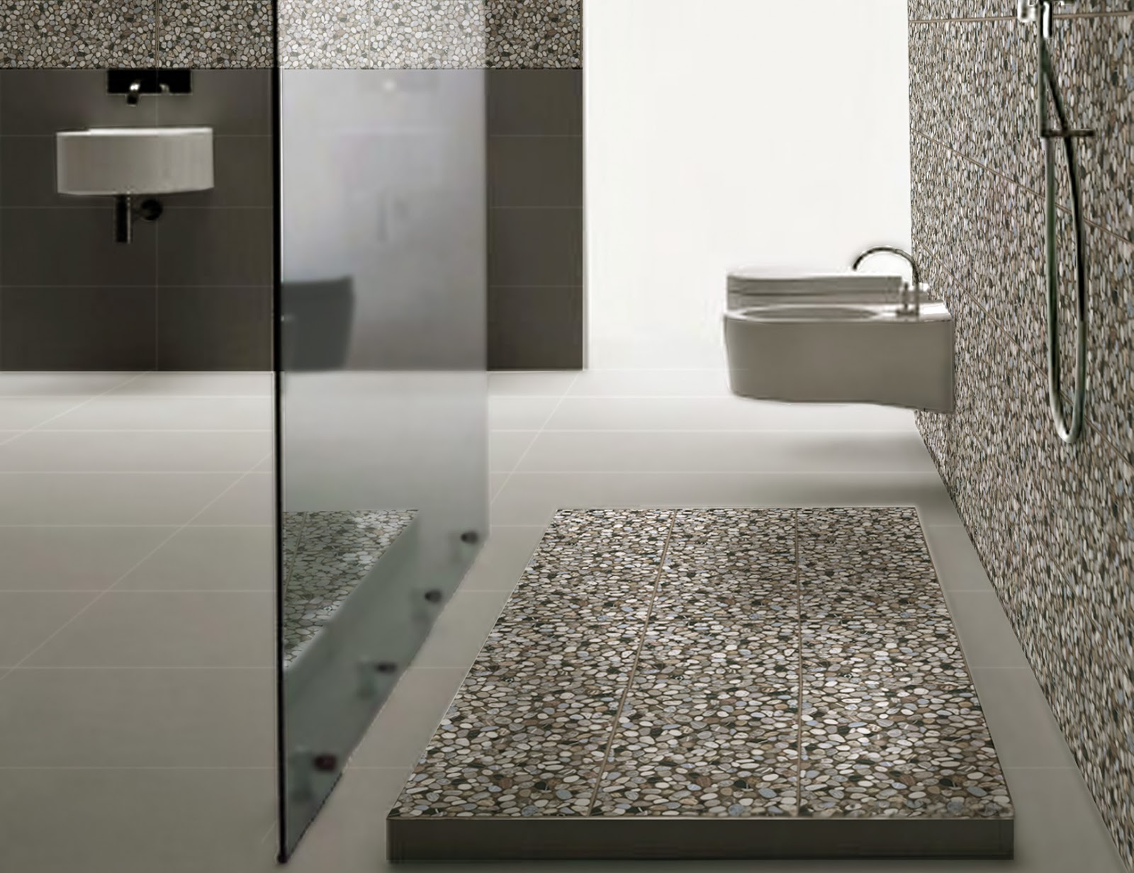 Pebble Tiles Sognare Tile Amp Stone Sognare Kitchen Amp Bath
