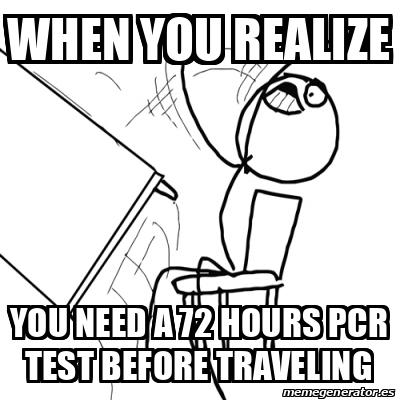Travel Covid Memes 2020