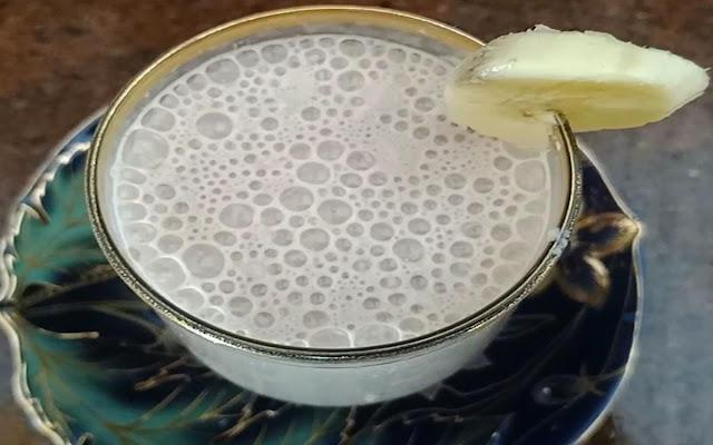 عصير موز بالشيكولاتة الشيف محمد الدخميسي