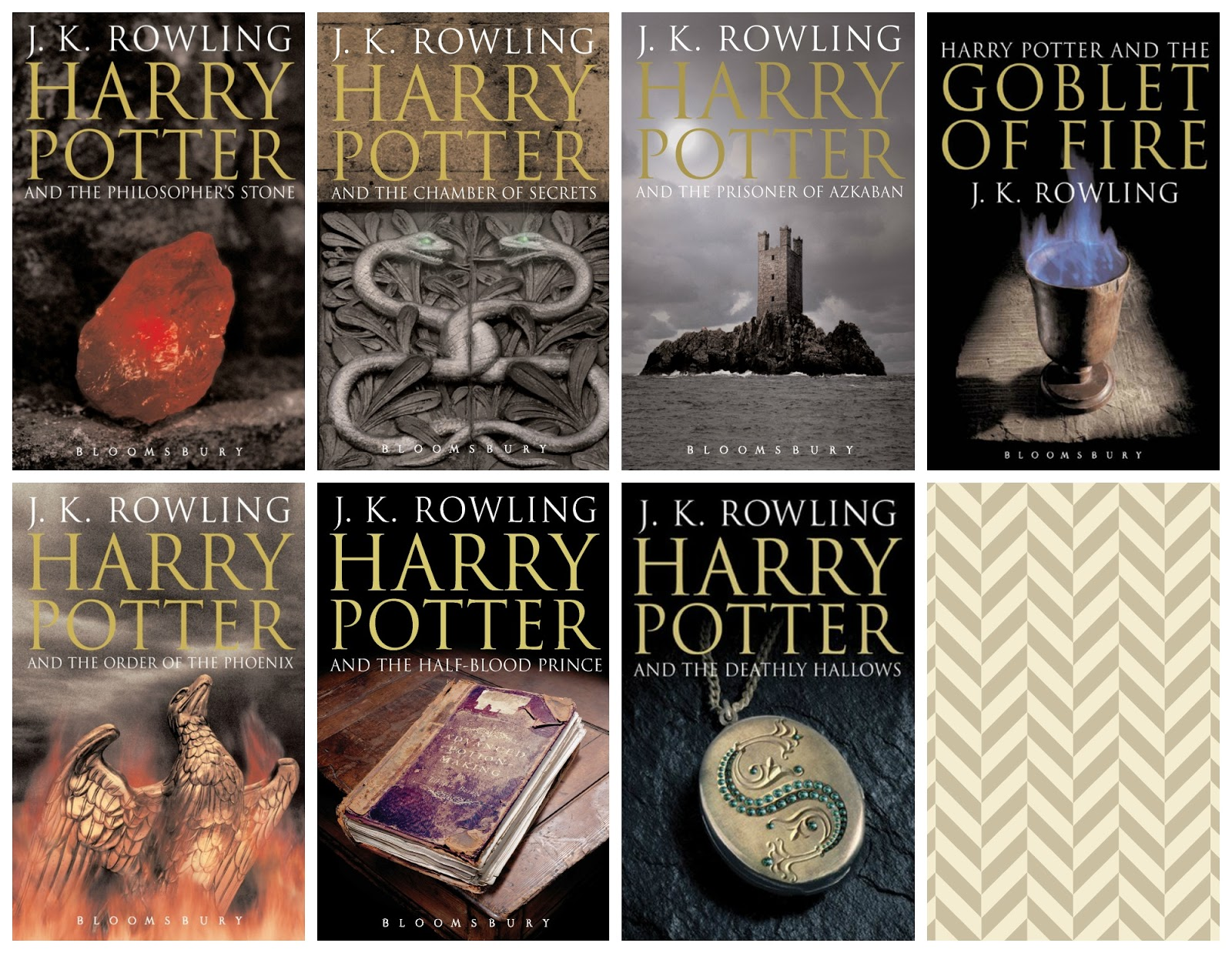 Harry Potter Book Cover Uk ~ Many covers monday all the harry potter series under the mountain