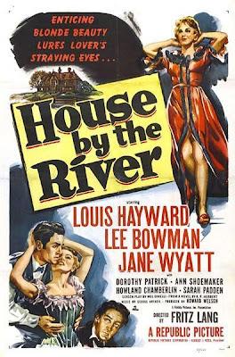 La casa del río | 1950 | House by the River, Cover, caratula, dvd
