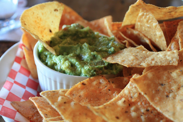 Chips and guacamole at Fox and Turtle